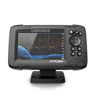 LOWRANCE HOOK Reveal 5 83/200 with Deep Water Performance & Base Map
