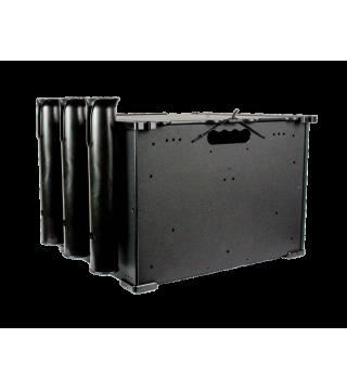 BlackPak™ Kayak Fishing Crate - Black