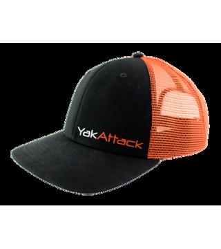 BlackPak™ Trucker Hat - Orange/Black